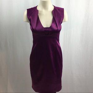 Elie Tahari Magenta Coloured Cocktail/Party Dress